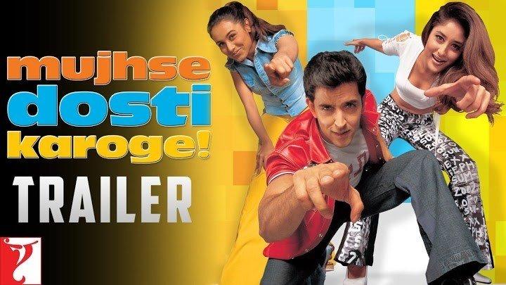 Mujhse Dosti Karoge (Eng Sub) [Full Video Song] (HD) With Lyrics - Mujhse Dosti Karoge