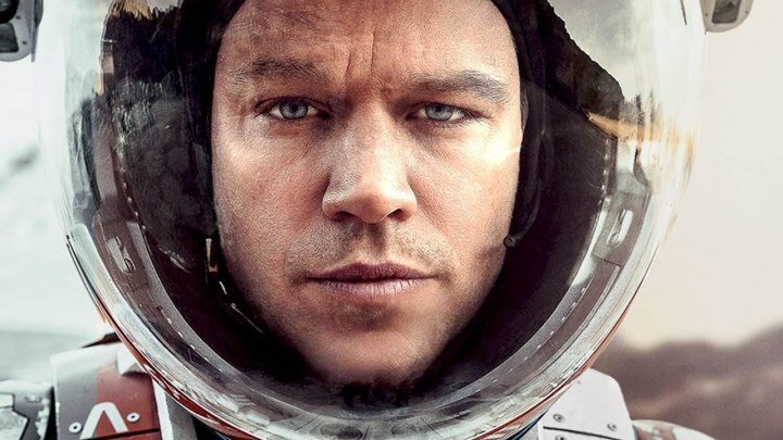 Марсианин HD(фантастика, приключенческий фильм)2015 (16+)
