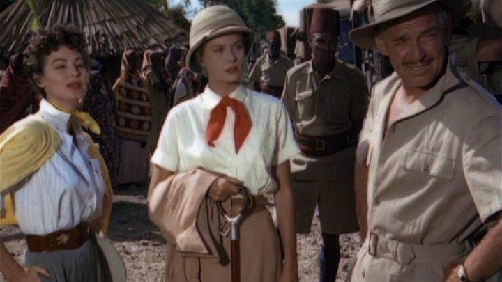 Mogambo 1953 -Clark Gable, Ava Gardner, Grace Kelly, Donald Sinden, Laurence Naismith