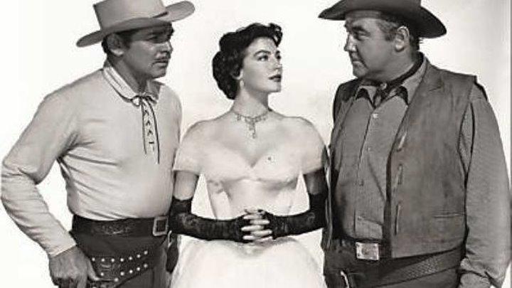 Lone Star 1953 -Clark Gable, Ava Gardner, Lionel Barrymore, Broderick Crawford, Beulah Bondi, Ed Begley, William Conrad