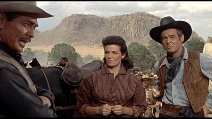 The Tall Men 1955 -Clark Gable, Jane Russell, Robert Ryan, Cameron Mitchell