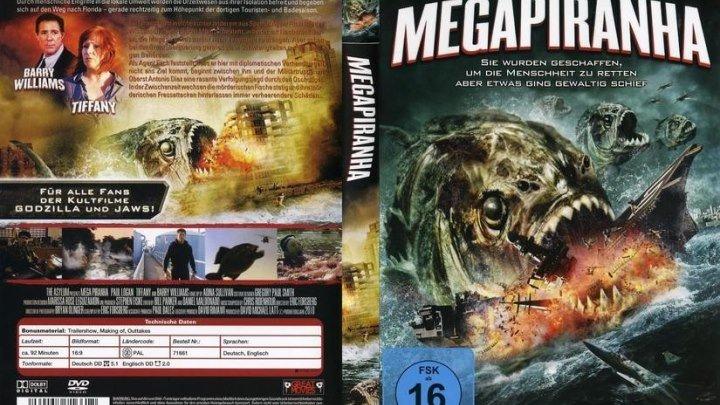 Мега пиранья (2010)Ужасы, Фантастика.