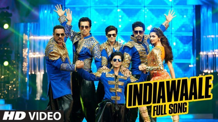 OFFICIAL׃ 'India Waale' FULL VIDEO Song ¦Happy New Year ¦ Shah Rukh Khan, Deepika Padukone