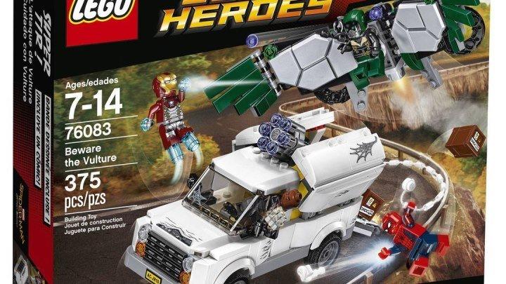 LEGO Человек-Паук Атака Стервятника Обзор 76083 Lego Marvel Spider Man Homecoming Beware the Vulture