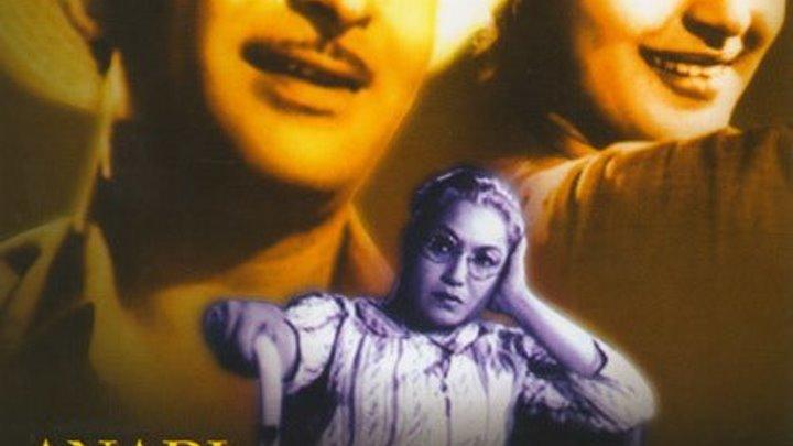 Индийский фильм _ Простофиля (Индия )Радж Капур Жанр: Мюзикл, Драма, Мелодрама, Комедия. Страна: Индия.