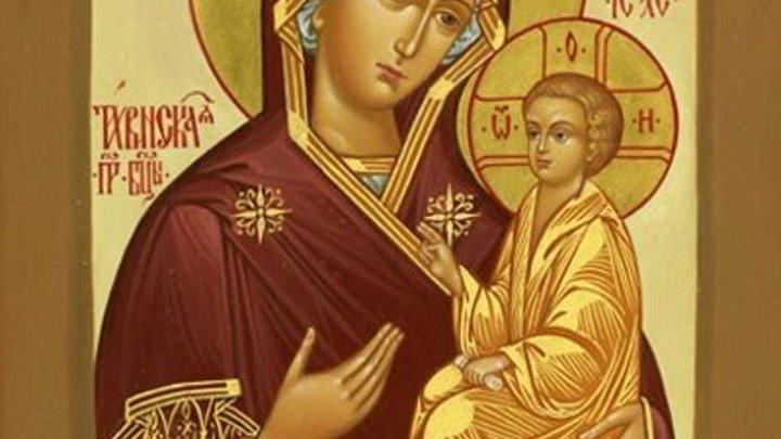 Икона Богородицы Тихвинская