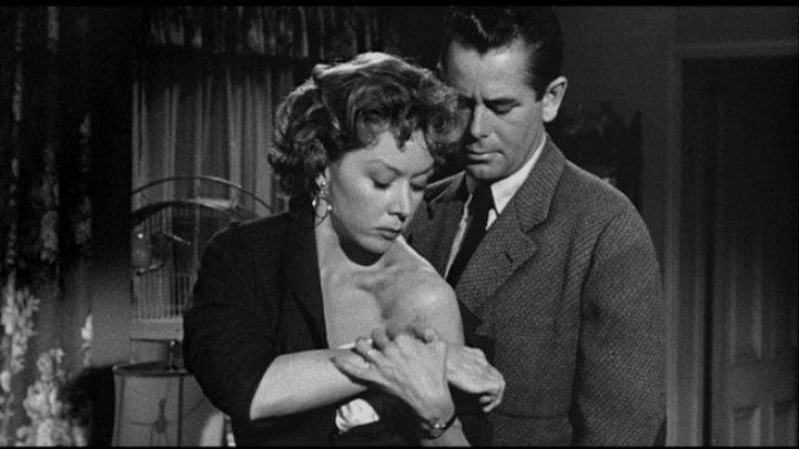 Human Desire 1954 -Glenn Ford, Gloria Grahame, Broderick Crawford, Edgar Buchanan, Kathleen Case, Peggy Maley, Grandon Rhodes