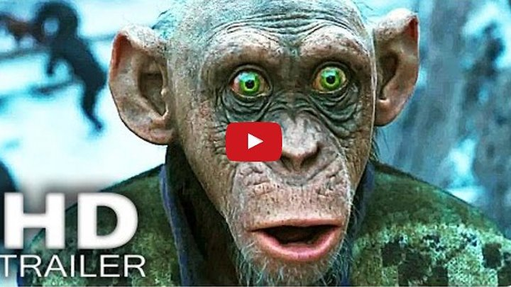 Планета обезьян: Война - Русский Трейлер #3 (2017)