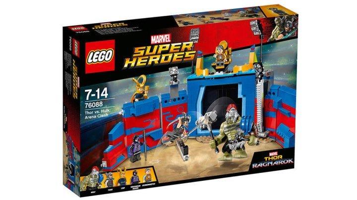 ЛЕГО ТОР ПРОТИВ ХАЛКА- Бой на арене 76088 Обзор LEGO Marvel Super Heroes 2017 Thor Ragnarok набор