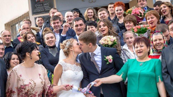 Поющая свадьба Олега и Марины (МОТ- День и ночь)