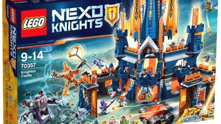 Лего Нексо Найтс 70357 Королевский замок Найтон Обзор LEGO Nexo Knights 2017 Knighton castle