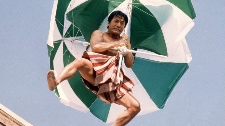 Джеки Чан в боевике Случайный шпион HD. 2001 (12+)