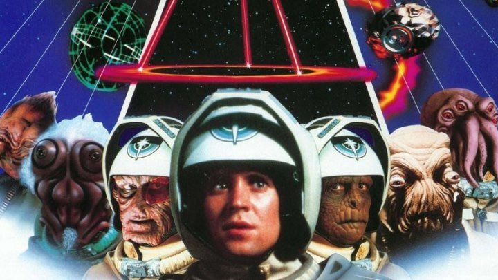 Последний звёздный боец (1984 ᴴᴰ) Фантастика, Боевик, Приключения