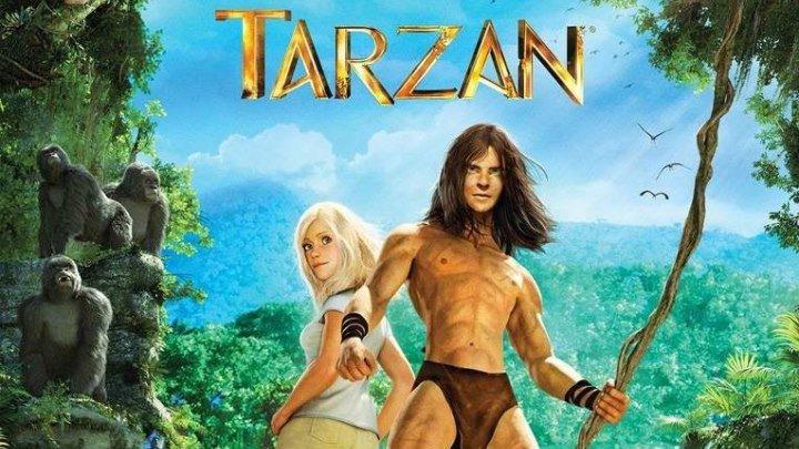 Тарзан [2013, мультфильм, семейный, приключения, WEBRip] DUB