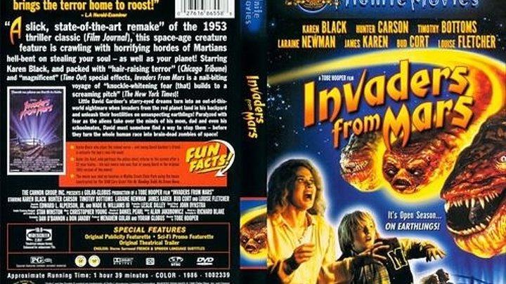 Пришельцы с Марса (1986)США., Фантастика