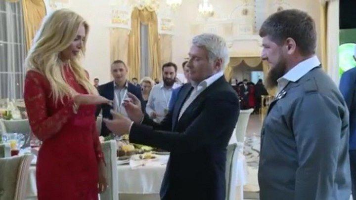 Басков женится на Лопыревой в Грозном. Рамзан Кадыров свидетель!