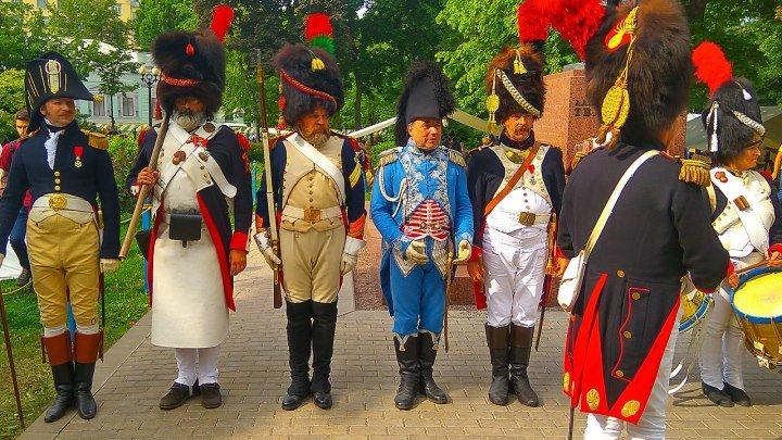 Война и мир на Страстном - реконструкция событий 1812 года