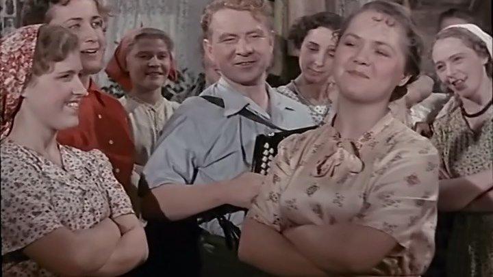 """""""Посеяли девушки Лён"""" (1956)"""