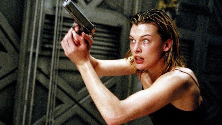 Обитель зла /Resident.Evil.2002. Триллер боевик приключения ужасы фантастика