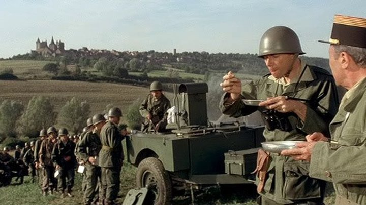 Новобранцы идут на войну / Les bidasses s'en vont en guerre (1975) HD