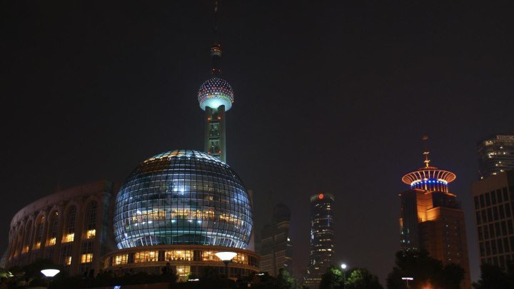 2 Шанхай ,часть 2 Шанхай , октябрь 2010 г.