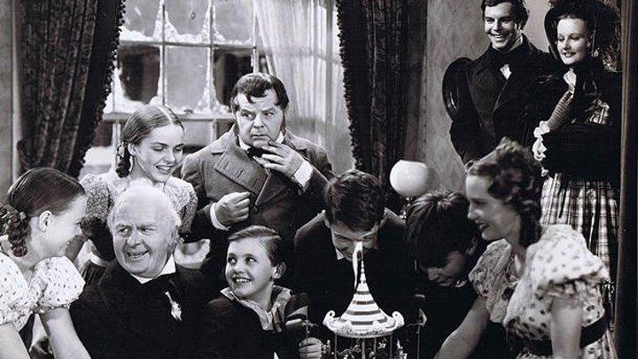 A Christmas Carol 1938 - Reginald Owen, Gene Lockhart, Kathleen Lockhart, Terry Kilburn, Leo G. Carroll, Ann Rutherford