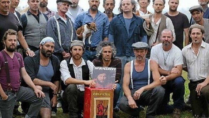 Австралийские мужики из хора Dustyesky.