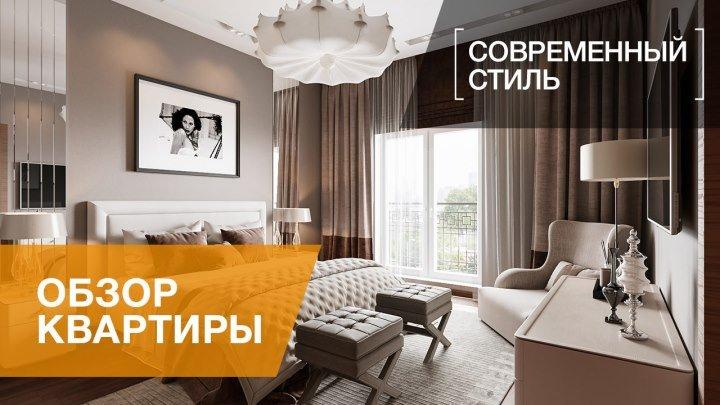 Дизайн трехкомнатной квартиры 127 кв.м. в современном стиле, ЖК «Парадный квартал»