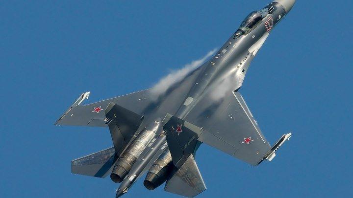 МАКС 2017 Тренировочные полёты СУ-35С, Танцы в небе!
