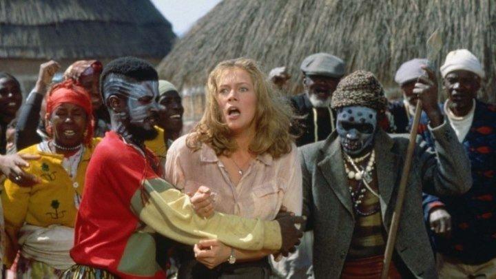 Жемчужина Нила.1985 комедия боевик приключения