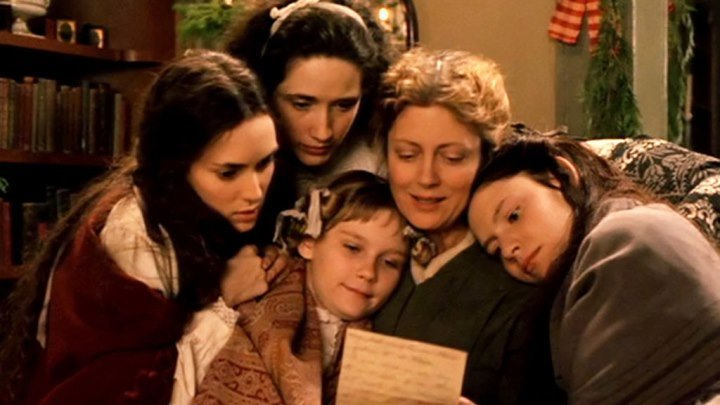 Little Women 1994 - Winona Ryder, Christian Bale, Susan Sarandon, Kirsten Dunst, Claire Danes, Samantha Mathis, Gabriel Byrne, Trini Alvarado