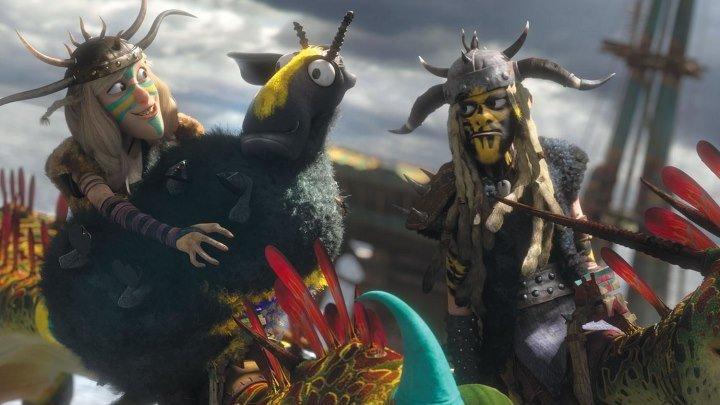 Как приручить дракона 2. мультфильмы приключения семейный фэнтези