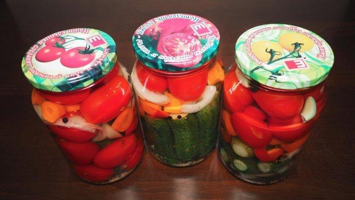 Овощное Ассорти на Зиму в мультиварке 🌶 Как приготовить маринованные огурцы и помидоры. Рецепты для мультиварки