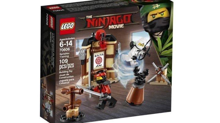 LEGO Ninjago Movie 70606 Уроки Мастерства Кружитцу Обзор новинки мультфильма Лего Ниндзяго Фильм