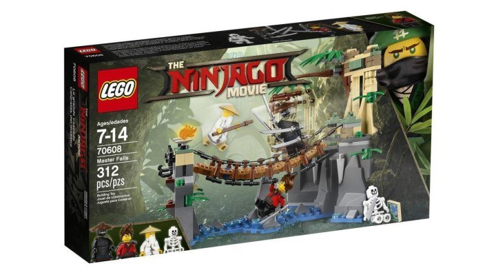 LEGO Ninjago Movie 70608 Битва Гармадона и Мастера Ву Обзор новинки Лего Ниндзяго Фильм