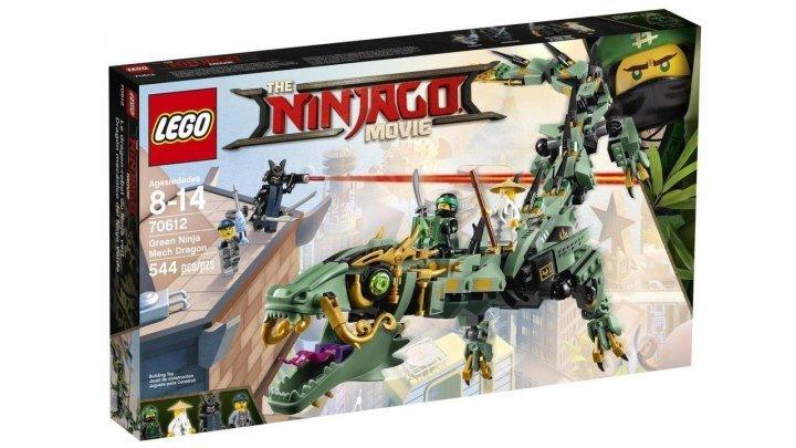 LEGO Ninjago Movie 70612 Механический Дракон Зелёного Ниндзя Ллойда Обзор наборы Лего Ниндзяго Фильм