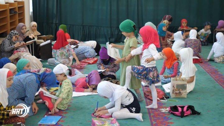 Летние курсы для детей в центральной мечети г.Махачкалы