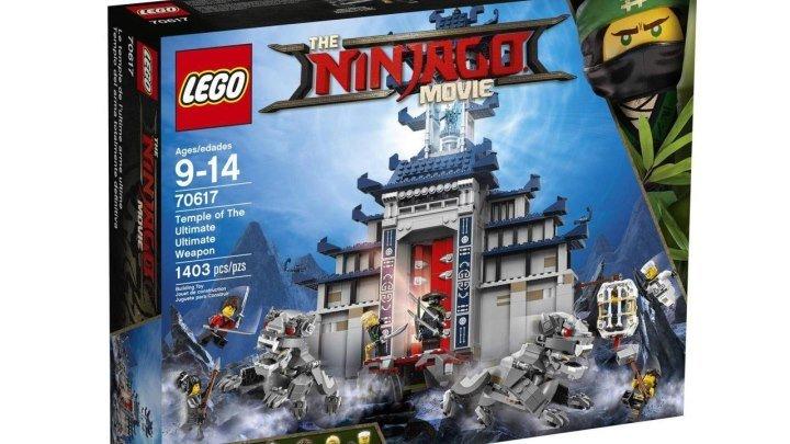 ЛЕГО Ниндзяго Фильм 70617 Храм последнего великого оружия Новинка мультика The LEGO Ninjago Movie