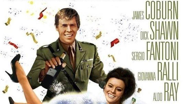 Что ты делал на войне, папа (1966) комедия, военный HDRip от Koenig P (Петербург 5-й канал) Джеймс Коберн, Дик Шон, Серджо Фантони, Джованна Ралли, Альдо Рэй, Гарри Морган