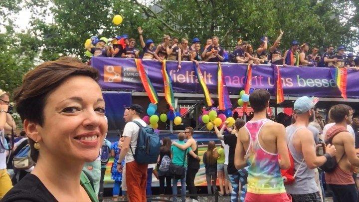 Берлинский гей-парад 2017