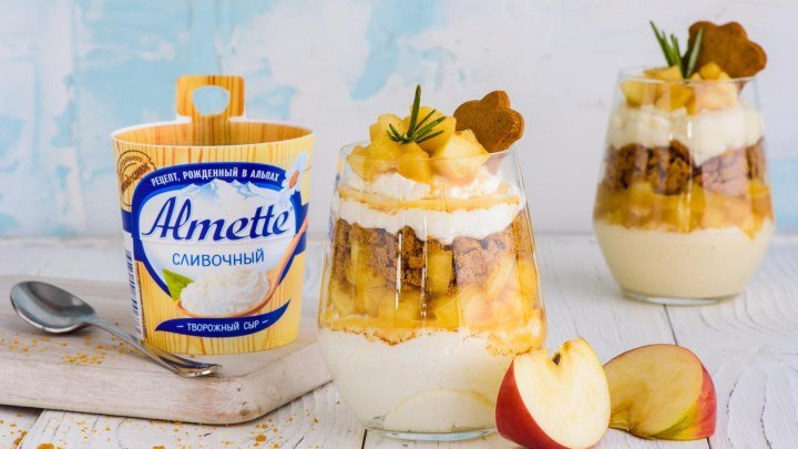 "Тирамису со сладкими яблоками от ""Утконос"""
