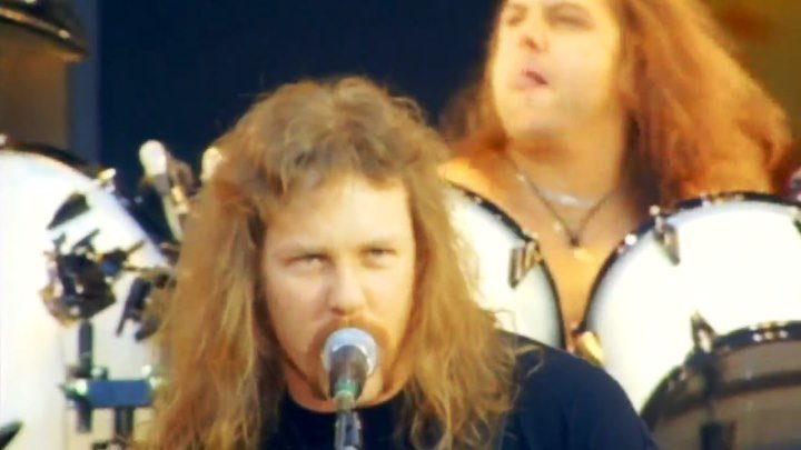 "Metallica - Enter Sandman (1992)-musik.klab ROK ДЖУНГЛИ!!! -""(official)""."