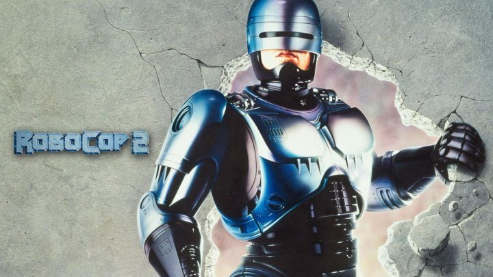 Робокоп -2 HD(1990) 1O8Op.Фантастика,Боевик,Триллер