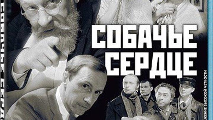 Собачье сердце (Владимир Бортко) / [1988, фантастика, драма, комедия, BDRip-AVC]