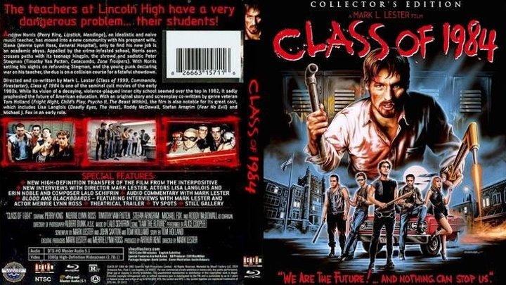 Class of./ Класс 1984 (1982)Криминал.Канада.