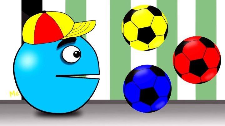 Учим цвета с Пакманом Learn Colors with Color Pakman