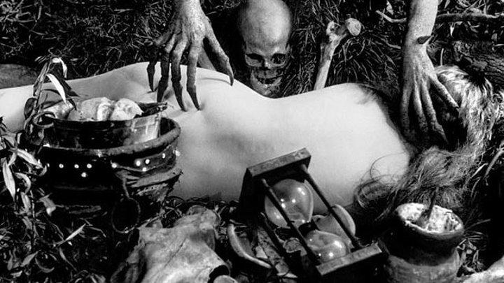 Ведьмы (История Колдовства) / Häxan (Дания/Швеция 1922) Ужасы, Сатира, Немое кино