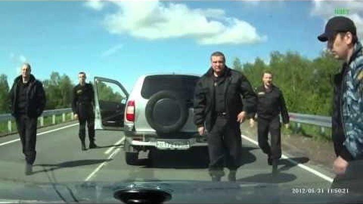 Отряд СОБР. Беспредел! Случай на дороге. Кто прав? Кто виноват?