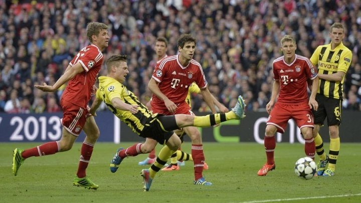 Боруссия Д - Бавария 1:2. Лига Чемпионов 2012/2013. Финал. Обзор матча.