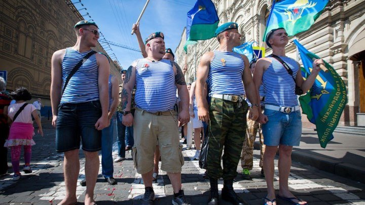 День ВДВ на Красной площади